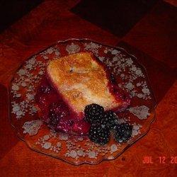 Blackberry Cobbler for 2 recipe