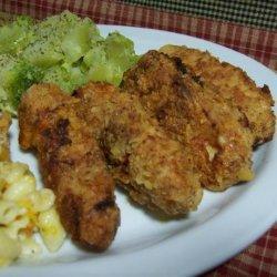 Delish Buttermilk Fried Chicken Strips recipe
