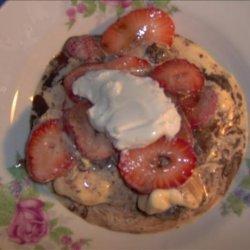 Strawberry Brownie Ice Cream Sundae recipe
