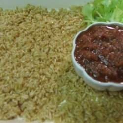 Tex-Mex Mexican Rice and Blender Hot Sauce recipe
