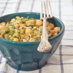 Marinated Chickpea Salad recipe