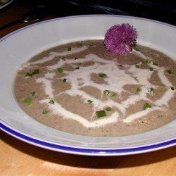 Leek and Mushroom Soup 1979 recipe