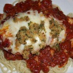 Cheesy Tomato Basil Chicken Breasts recipe