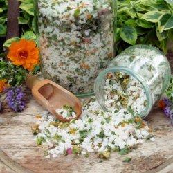 Flower and Herb Salt recipe