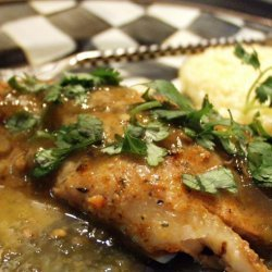 Blackened Fish With Salsa Verde (Low Carb) recipe