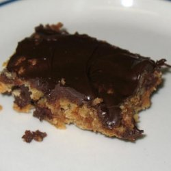 Peanut Butter Bars With Milk Chocolate Frosting recipe