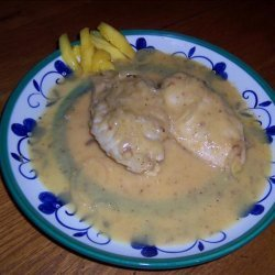 Chicken in Mango and Wine Sauce recipe