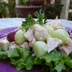 Chicken and Melon Salad (Honeydew) recipe