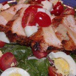 Applebee's Low-Fat Blackened Chicken Salad recipe