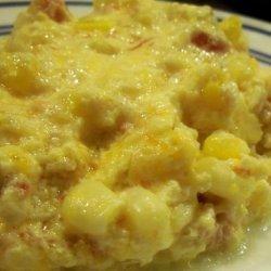 Cheesy Rotel Corn Casserole recipe
