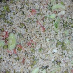 Scandinavian Rice Salad With Smoked Salmon recipe