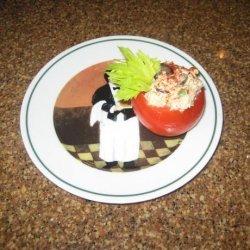 Tuna Salad Stuffed Tomatoes recipe