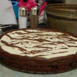 Chocolate Lace Cheesecake recipe
