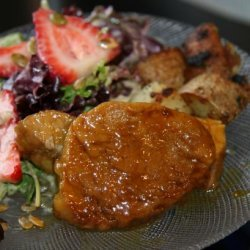 Pork Loin with Mustard Glaze recipe