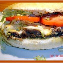 Three Cheese Steak Sandwich recipe