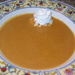 Pumpkin Pie Soup A.k.a. Pumpkin Soup recipe