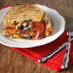 Grilled Pizza Sandwiches recipe