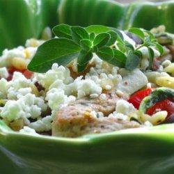 Mediterranean Pork With Orzo recipe