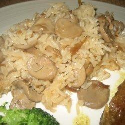 Mushroom Rice for a Crowd recipe