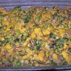 Broccoli Ham Casserole recipe