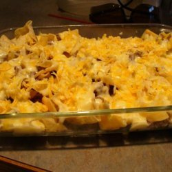 Tostito Scooper Meat and Cheese Hot Dish recipe