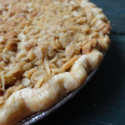 Crumble Topped Apple Pie recipe