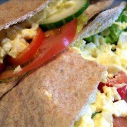 Egg Salad Pita recipe