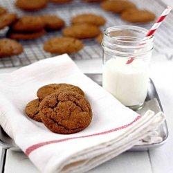 Soft Molasses Spice Cookies recipe