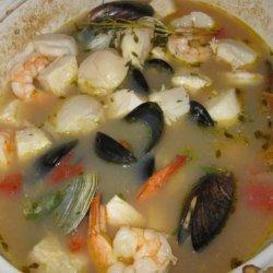 San Francisco Seafood Stew recipe