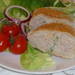 Baked Tuna Burger recipe