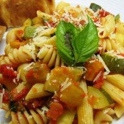 Ratatouille Pasta Toss recipe