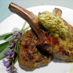 Veal Chops with Mustard-sage Butter recipe