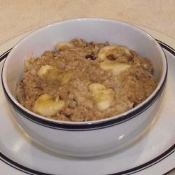 Healthy Oatmeal Breakfast recipe