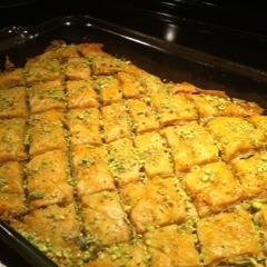 Pistachio Baklava With Cardamom and Rose Water recipe