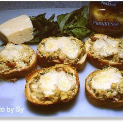 E-Z Artichoke and Cheese Bruschetta recipe