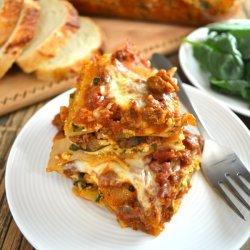 Beef and Mushroom Lasagna recipe
