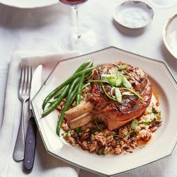 Pork Chops and Rice recipe