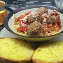 Buca Di Beppo Meatballs and Meatball Sauce recipe