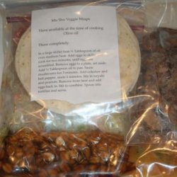 Mu Shu Veggie Wraps recipe