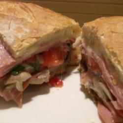 Baked Ham Sandwich recipe