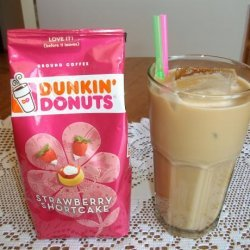 Strawberry Shortcake Iced Coffee recipe