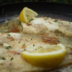 Steamed Fish With Sour Cream Sauce recipe
