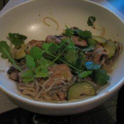 Ma Yi Shang Shu (Szechuan Pork With Cellophane Noodles) recipe