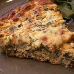Spinach Ricotta Pie recipe
