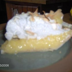 Bullock's Tea Room Lemon Meringue Pie recipe