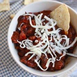 Spicy Black Bean Chili recipe