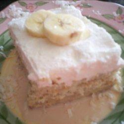 Banana Tres Leches Cake recipe