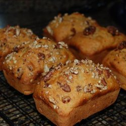 Pumpkin Cranberry Bread Loaf recipe