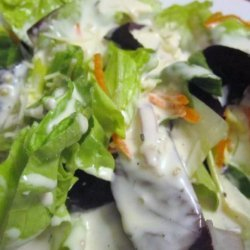 Sam Choy's Garlic Ranch Salad Dressing recipe
