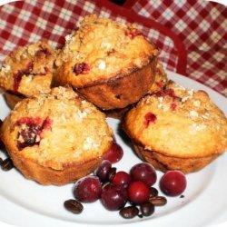 Cranberry Oat Muffins recipe